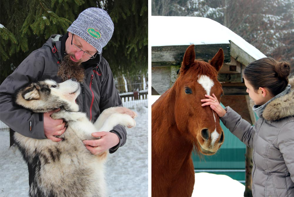 Freude an Tieren