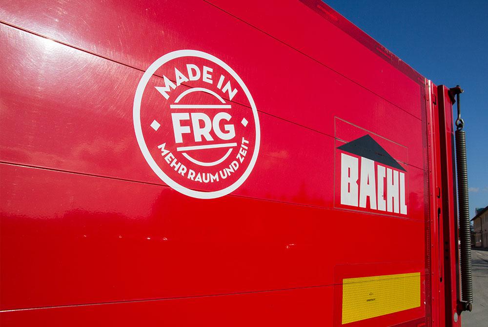 Bachl bei FRG Kampagne