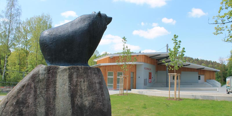 Der Kulturpavillon im Bärreal