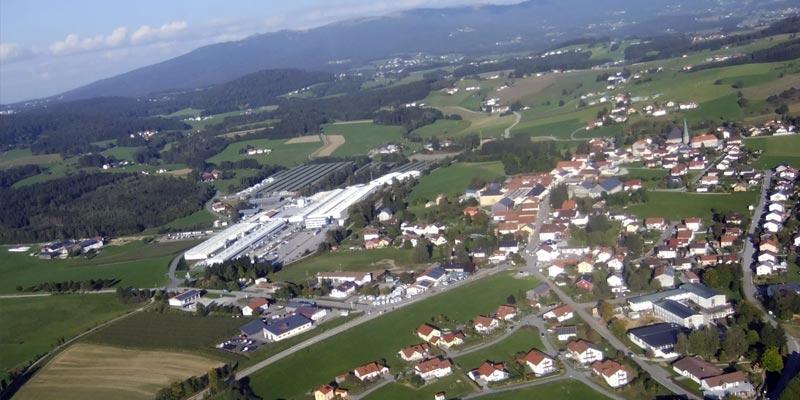 Stadt Jandelsbrunn Luftbild