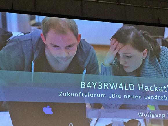 Landrebellen als Beispiel in Berlin