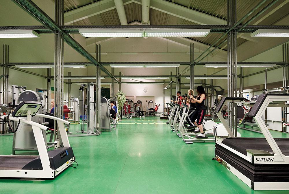 Fitness im Rahmen des Gesundheitskongresses