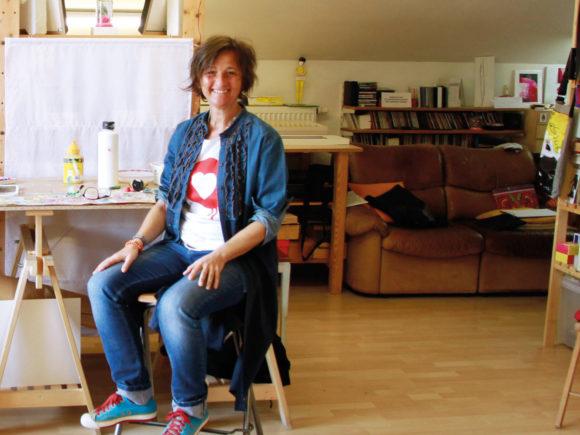 Künstlerin Petronilla Hohenwarter