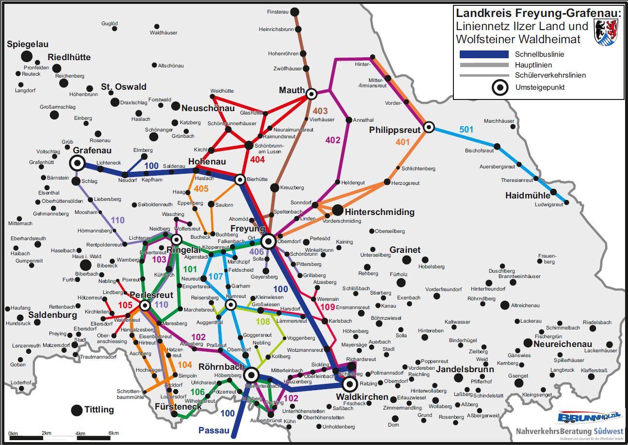 Verkehrsnetz FRG mobil