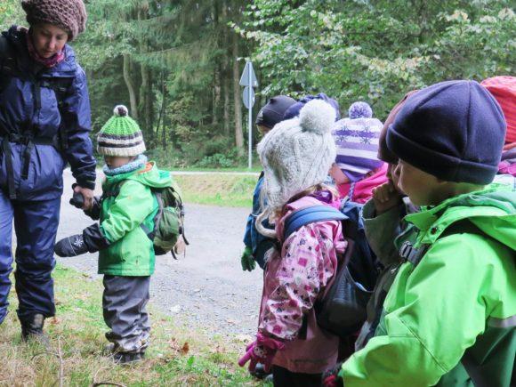 Waldkindergarten Ausflug