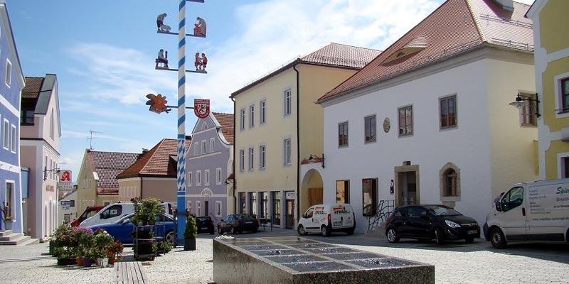 Gemeinde Perlesreut Marktplatz