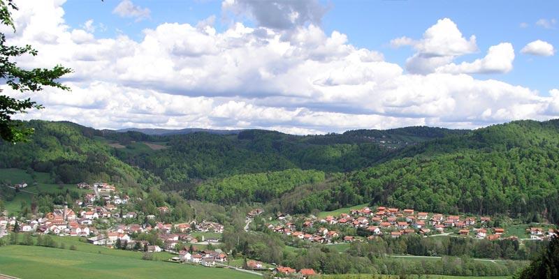Gemeinde Ringelau idyllische Landschaft