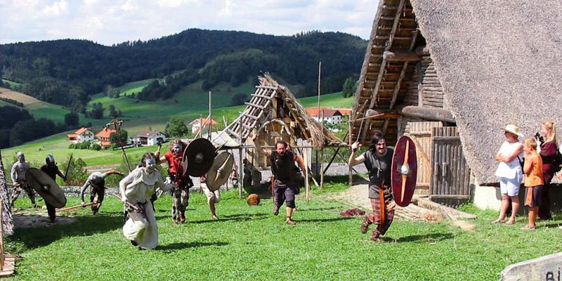 Gabreta Keltendorf in Ringelai
