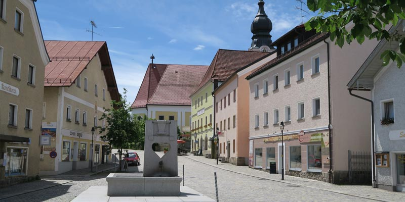 Röhrnbach Marktplatz