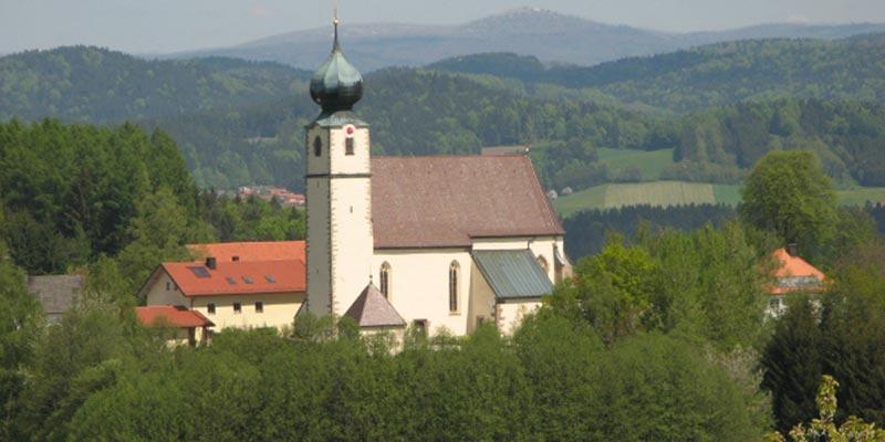 Kirche der Gemeinde Saldenburg