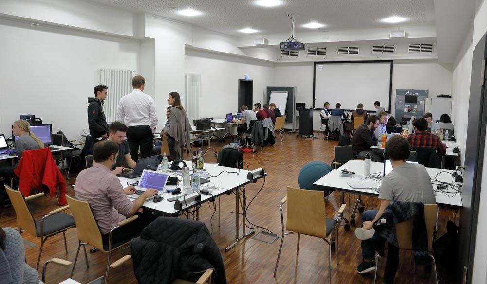 Eindruck vom Hackathon
