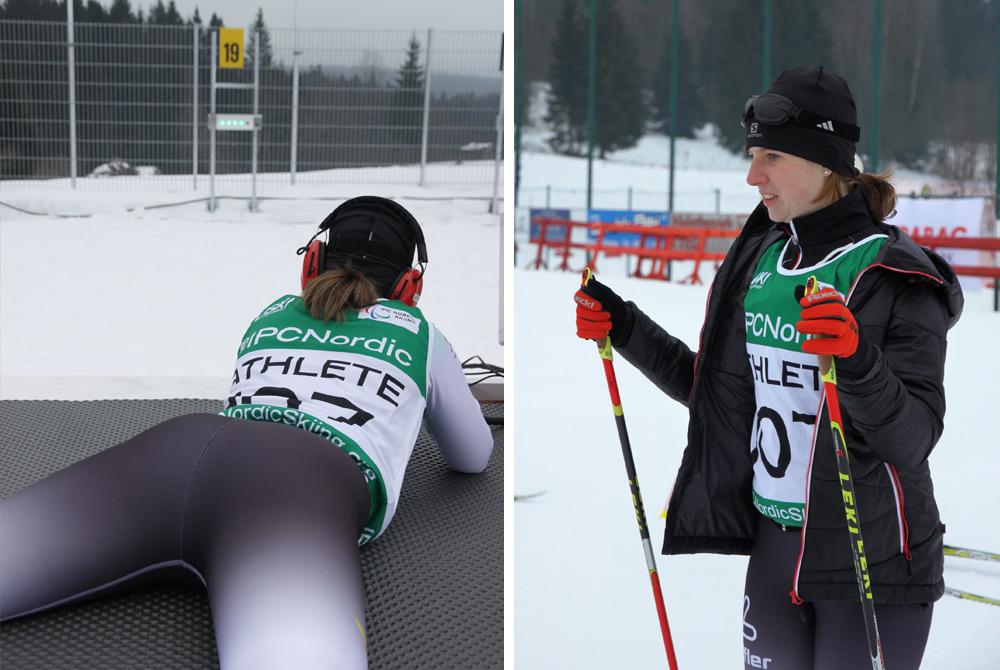 Athletin der World Para Nordic Skiing Championships