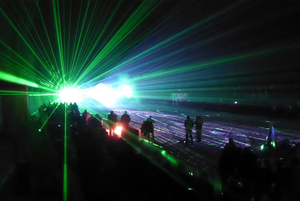 Aftershowparty der World Para Nordic Skiing Championships