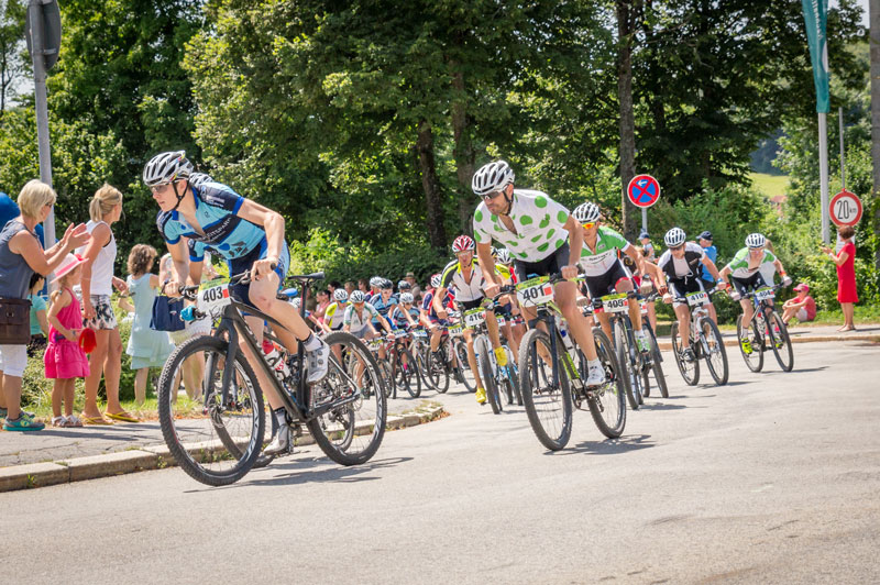 Tag des Sports Fahrrad