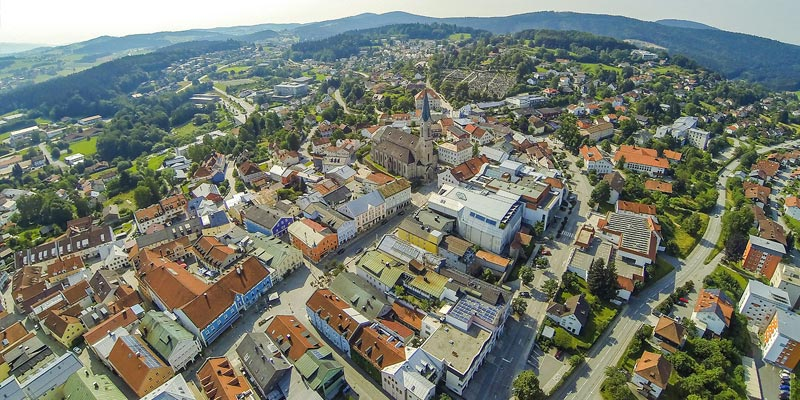 Stadt Waldkirchen Luftbild