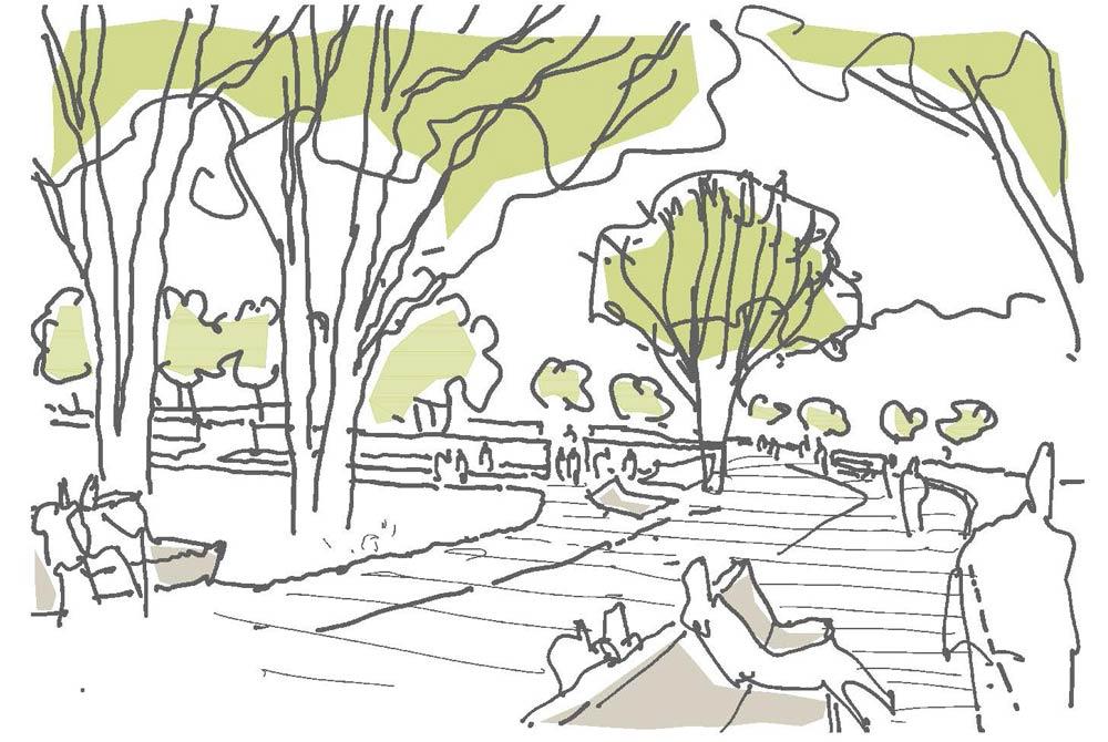 Skizze Regionalgartenschau