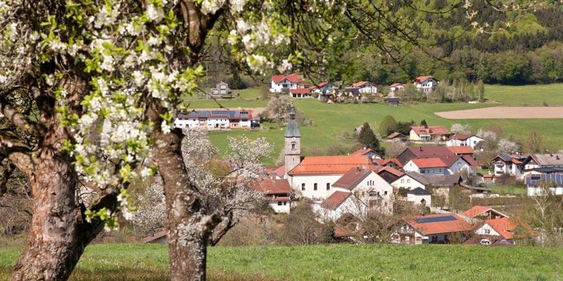 Die Gemeinde Zenting
